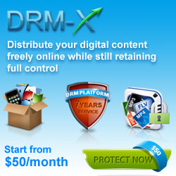 Distrbute your digital content freely online while still retaining full control.