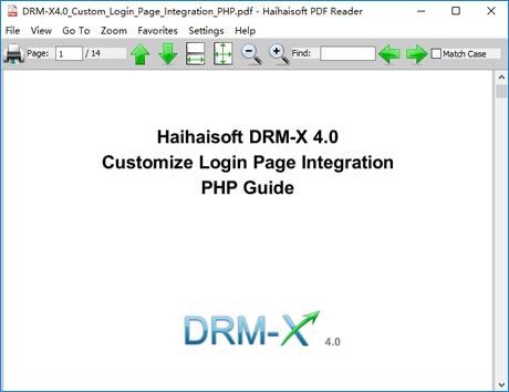 DRM-X com - Support WMV, WMA, ASF, FLV, MP4, MP3 and PDF