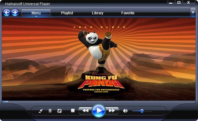 أحدث اصدار من مشغل الميديا الشهيرHaihaisoft Universal Player 1.4.9.0